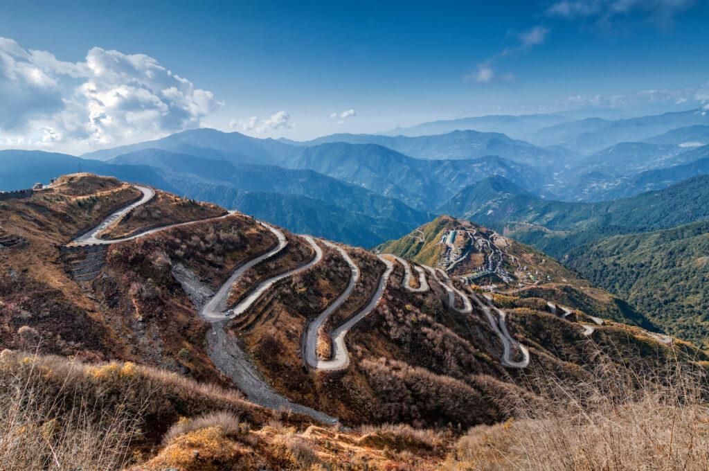 The incredible Silk Road through Asia.