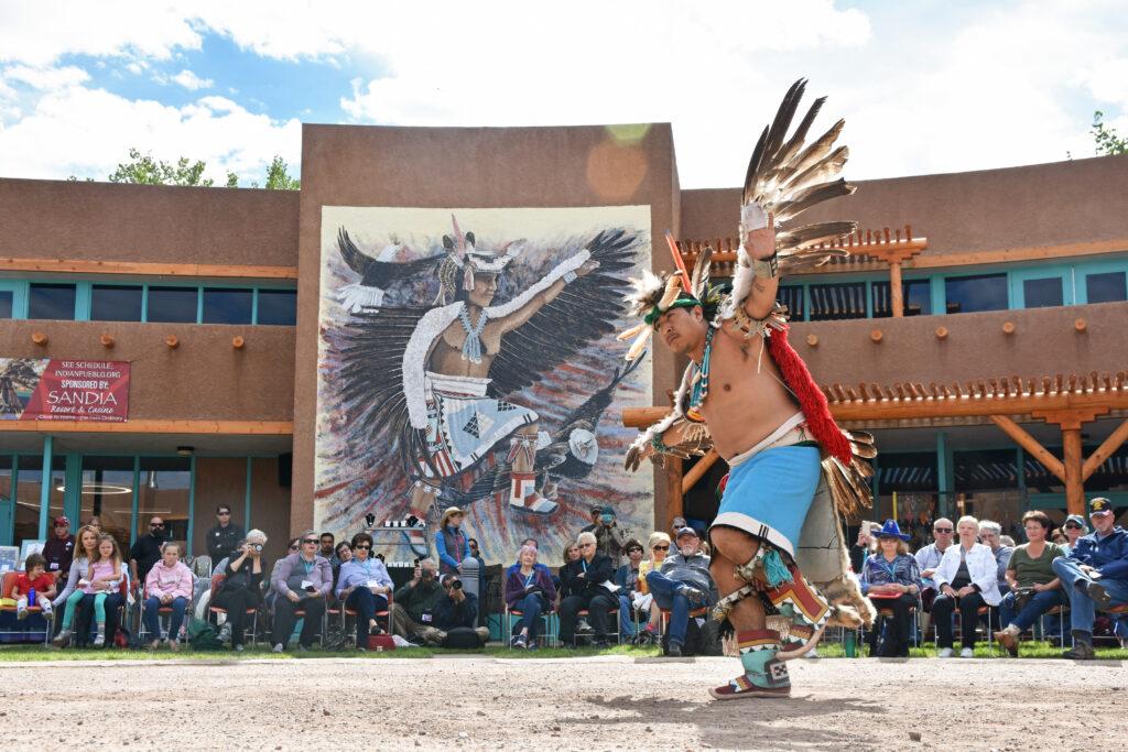 The Indian Pueblo Cultural Center.