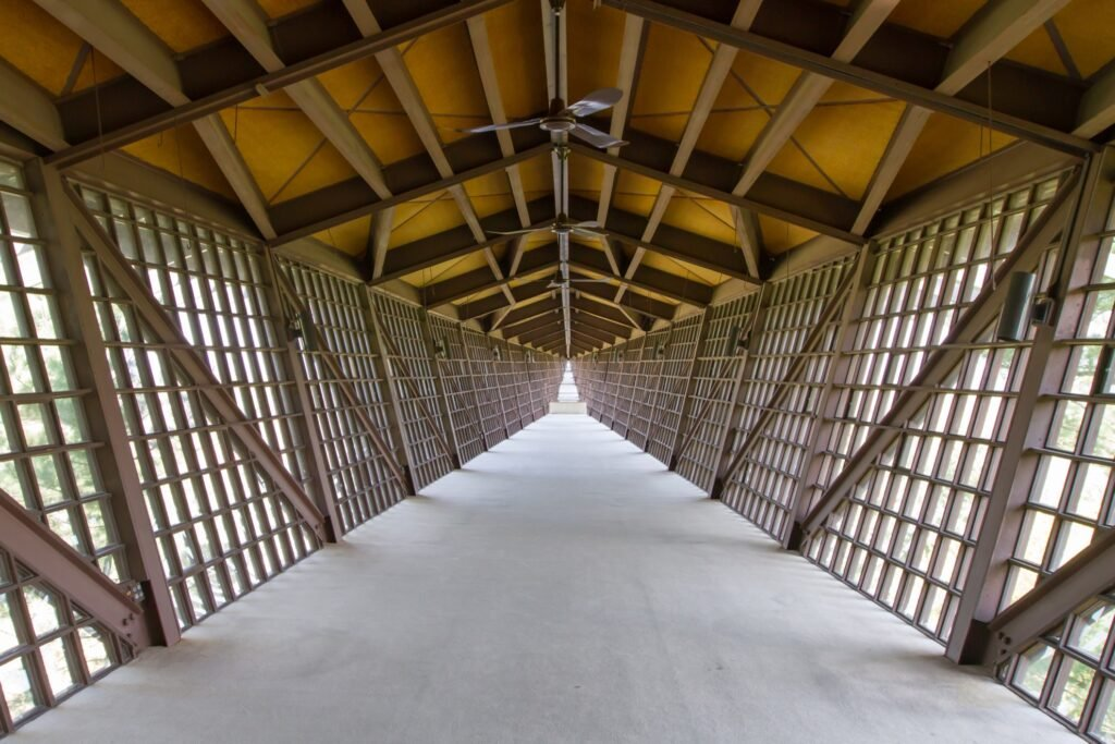 The Infinity Room bridge at the House On The Rock.
