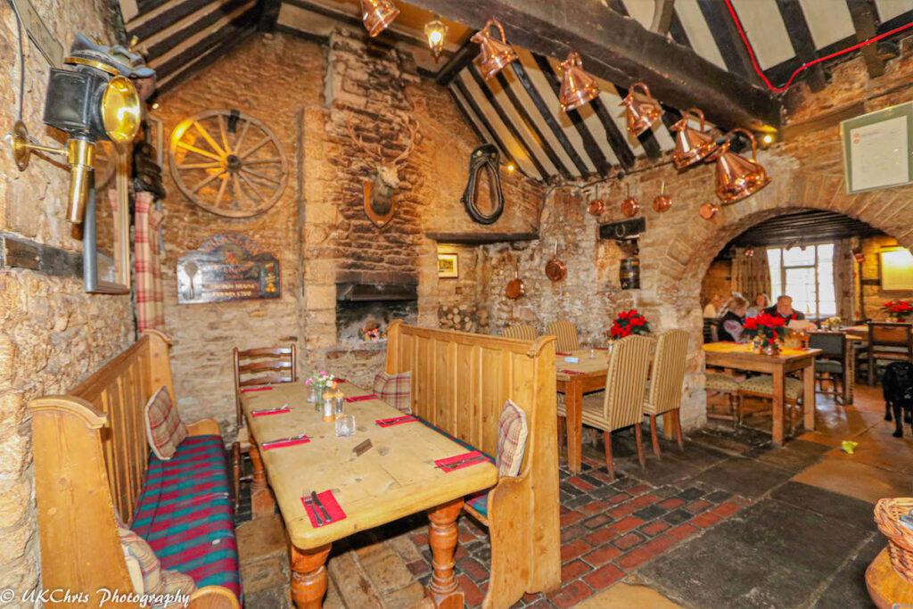 The Inn At Fossebridge in Fossebridge, Glos, England.