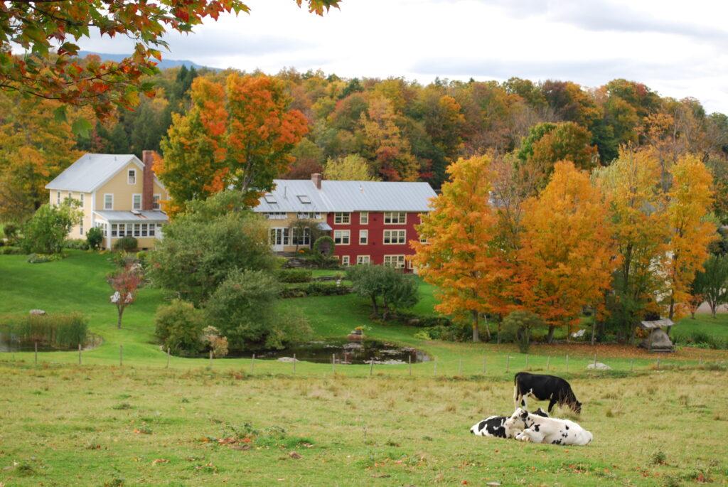 the inn at round barn farm in vermont