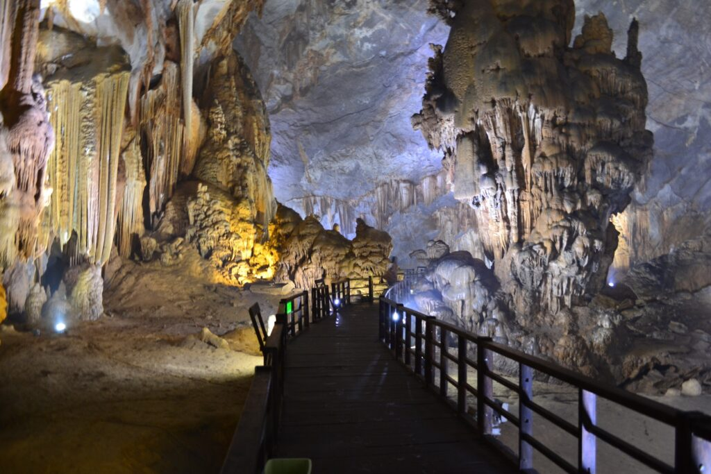 The interior of Hang Son Doong Cave.