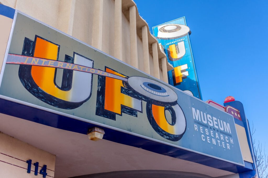 The International UFO Museum and Research Center.