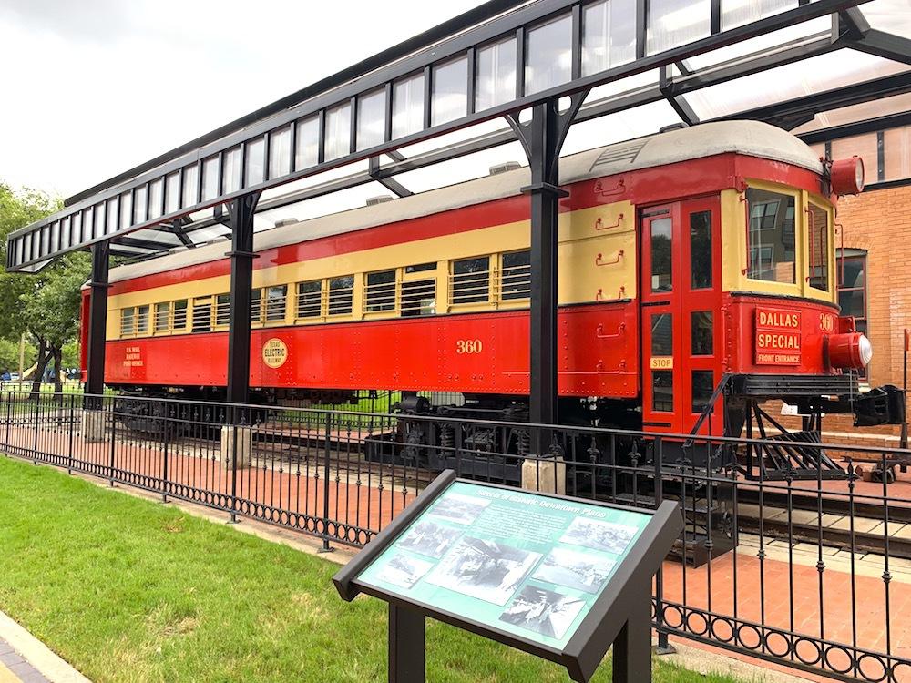 The Interurban Railway Museum in Plano.