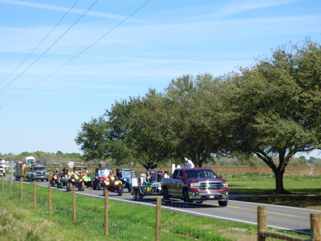 The Iowa Chicken Run in Louisiana.