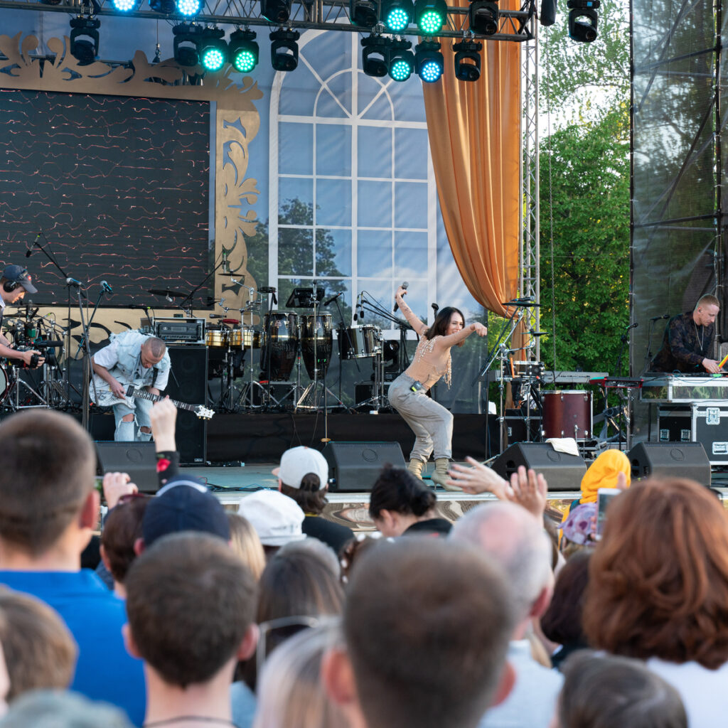 The Iowa City Jazz Festival.
