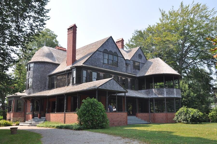 The Isaac Bell House in Newport, Rhode Island.