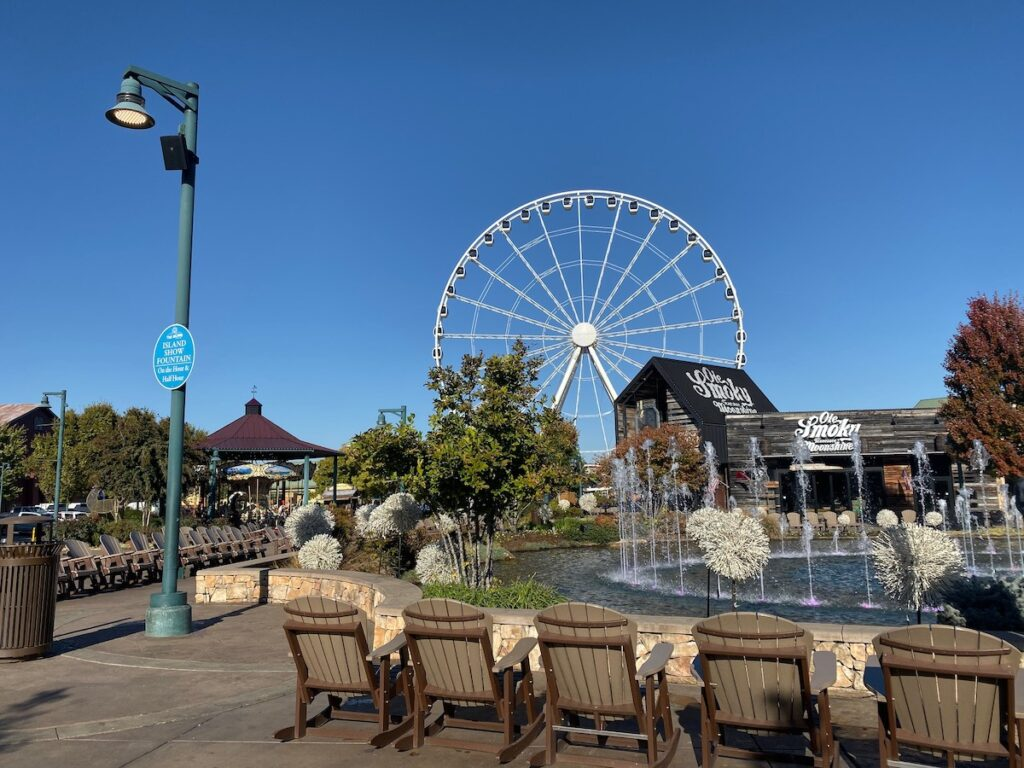 The Island in Pigeon Forge.