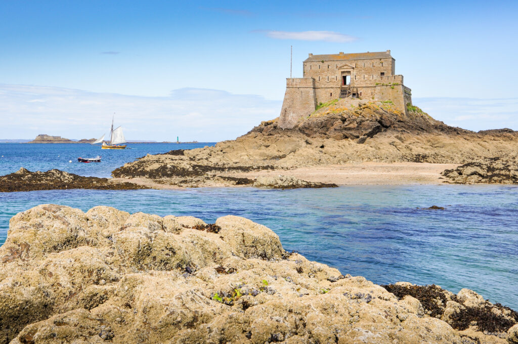 The island of Grand Be in Saint-Malo.