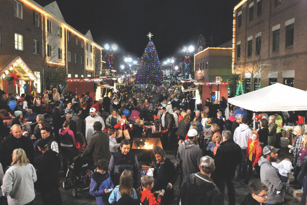 The It's A Wonderful Life festival in Indiana, Pennsylvania.