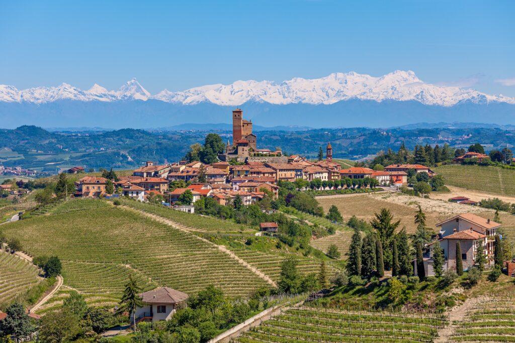 The Italian town of Alba.