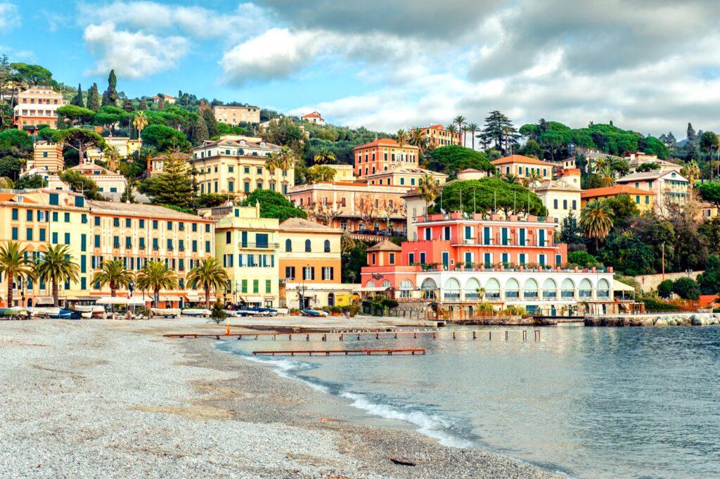 The Italian town of Santa Margherita Ligure.