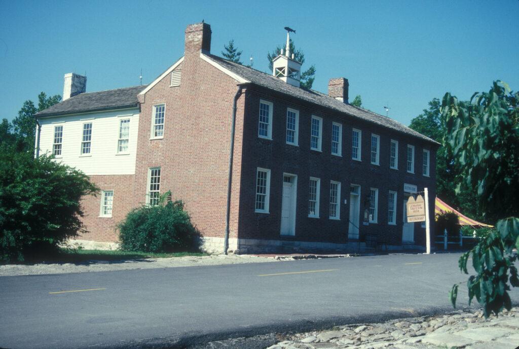 The J. Huston Tavern in Arrow Rock, Missouri.