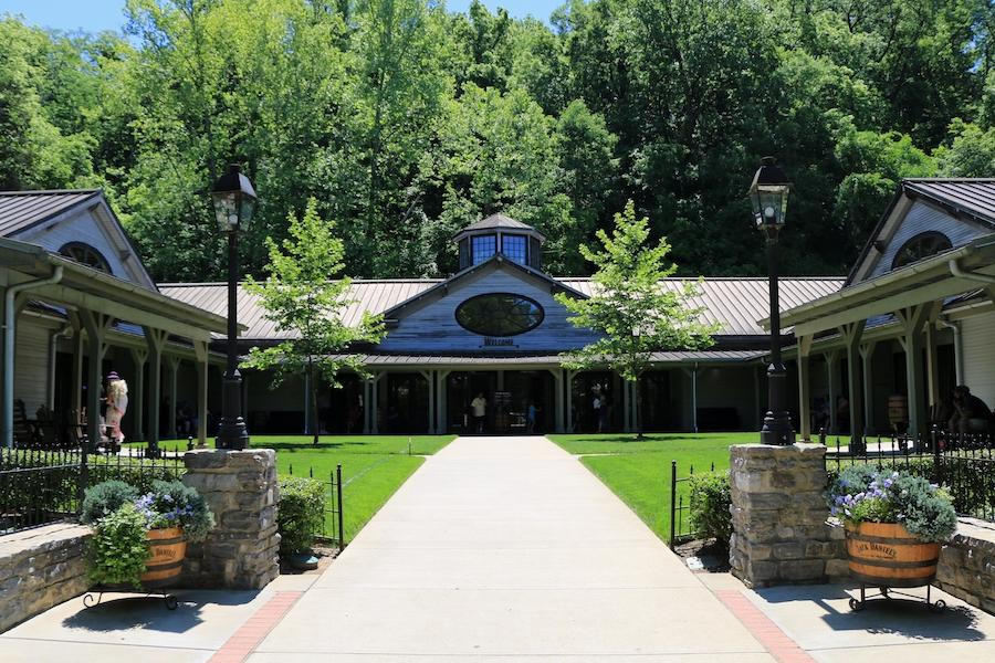 The Jack Daniel's Distillery in Lynchburg, Tennessee.