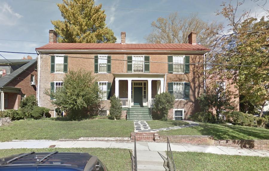 The Jackson House in Farmville, Virginia.