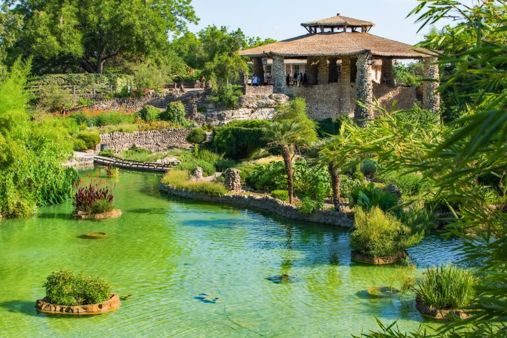 The Japanese Tea Garden in Brackenridge Park.