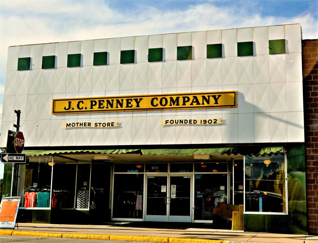 The JCPenny Mother Store in Wyoming.
