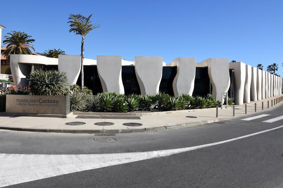 The Jean Cocteau Museum in Menton.