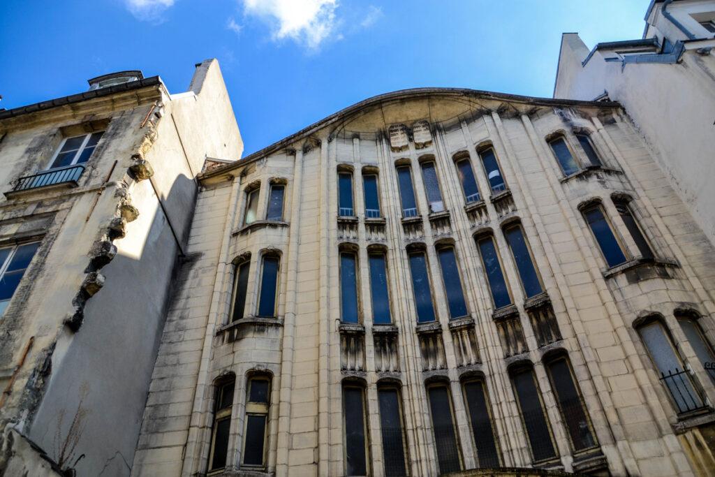 The Jewish Quarter in Paris, France.