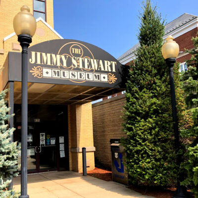 The Jimmy Stewart Museum in Indiana, Pennsylvania.