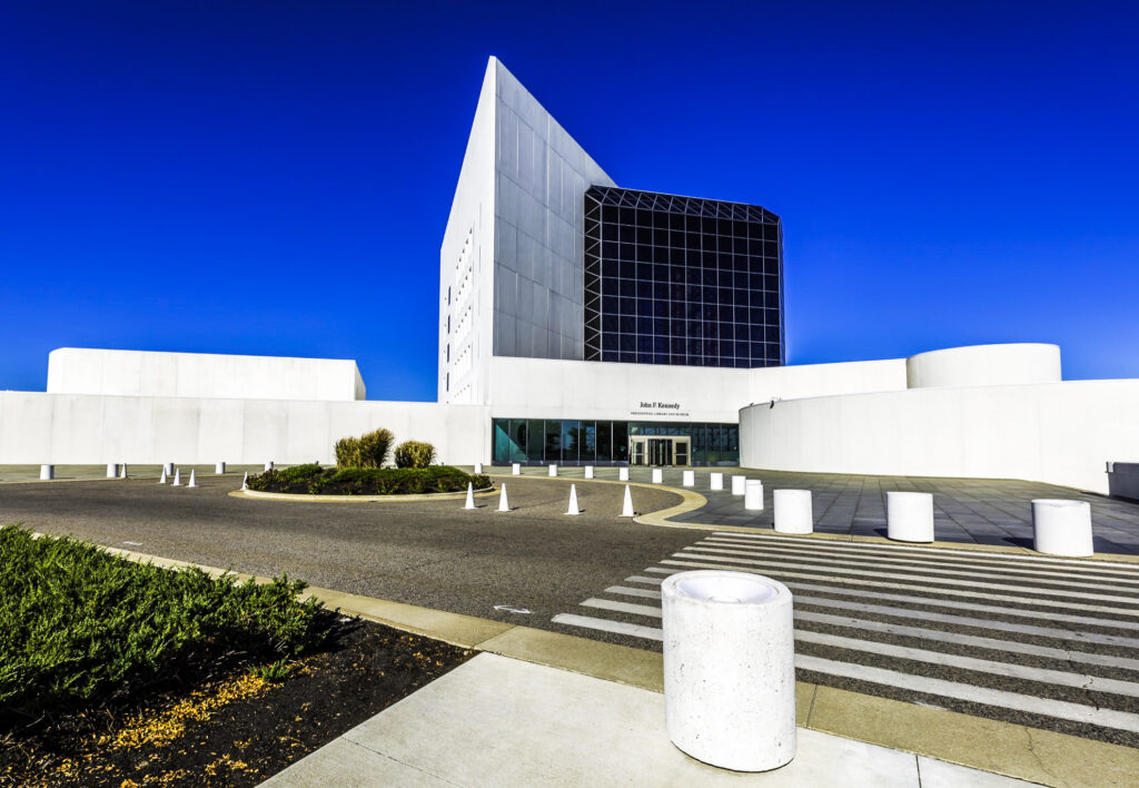 The John F. Kennedy Presidential Library and Museum in Boston