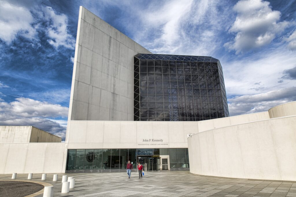 The John F. Kennedy Presidential Library And Museum.