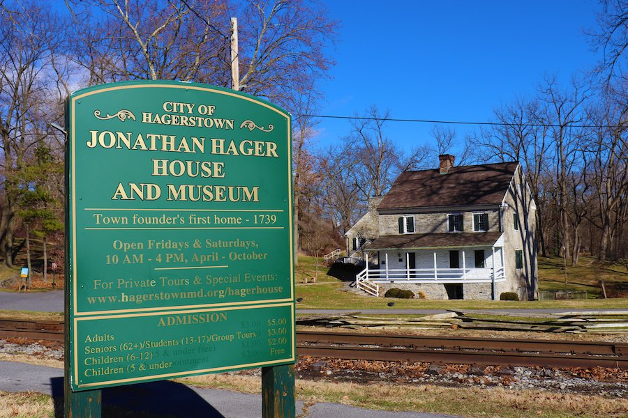 The Jonathan Hager House Museum in Hagerstown.
