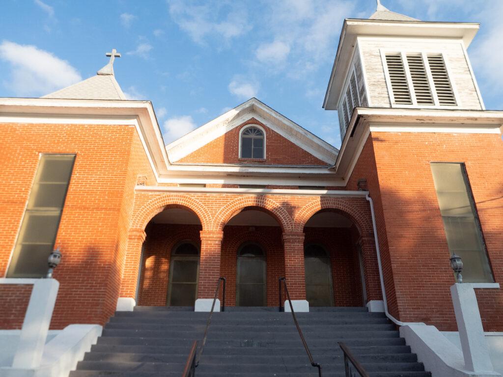 The Joshua Chapel AME Church in Waxahachie, Texas.