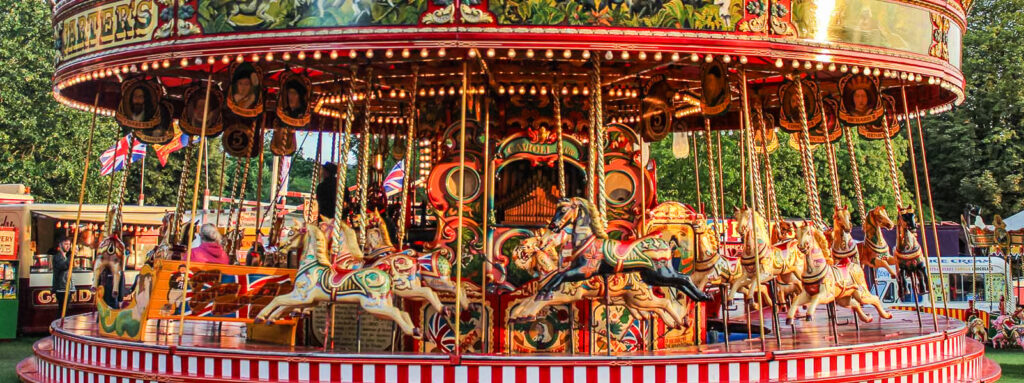 The Jubilee Steam Gallopers at Carters Steam Fair