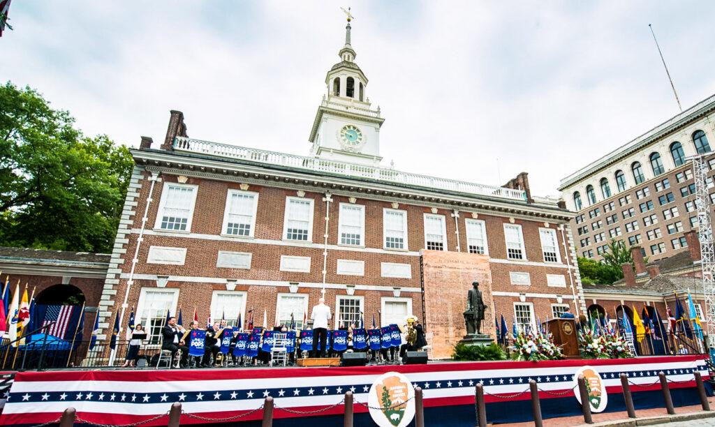 The July 4th Celebration of Freedom in Philadelphia