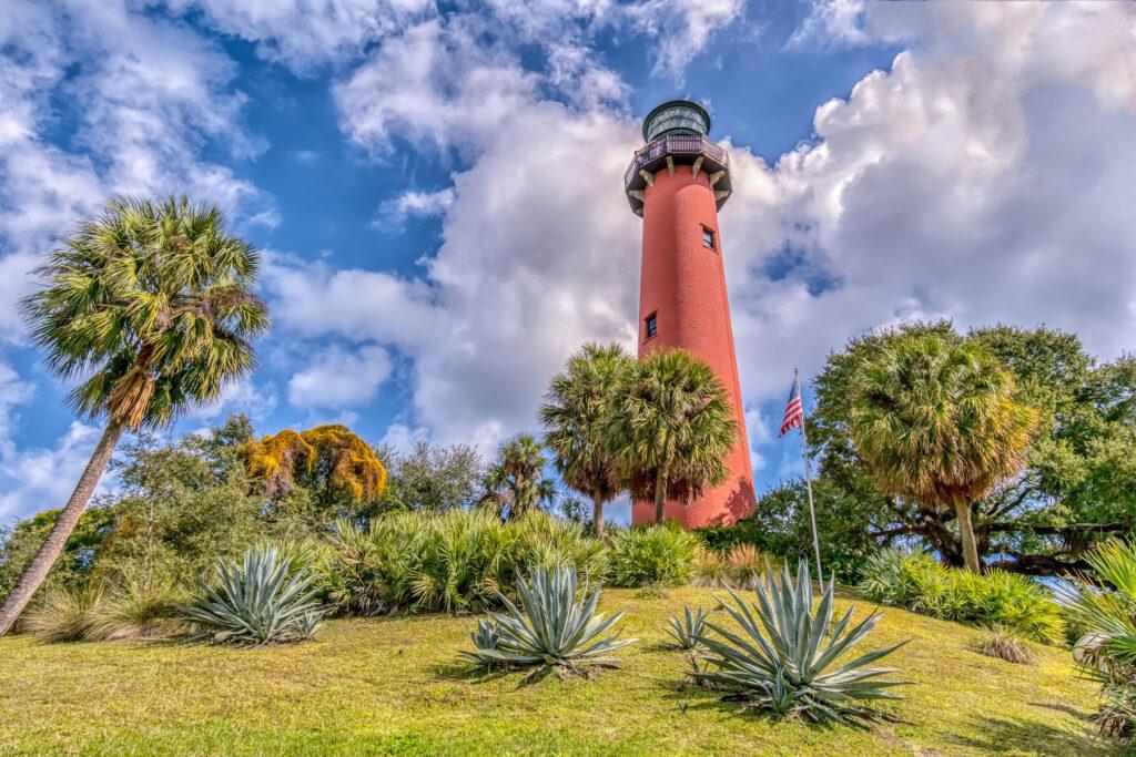 The Jupiter Inlet Lighthouse in Florida.