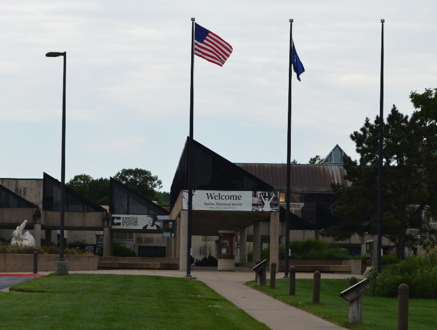The Kansas Museum of History in Topeka.