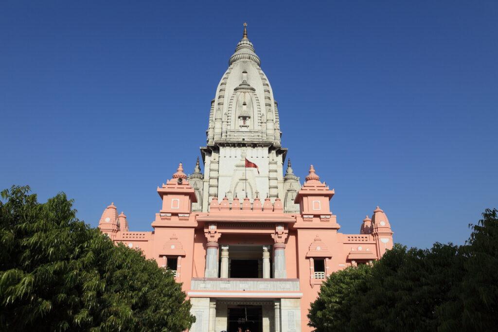 The Kashi Vishwanath Temple in Varanasi, India.