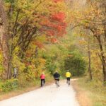 The Katy Trail in Missouri.
