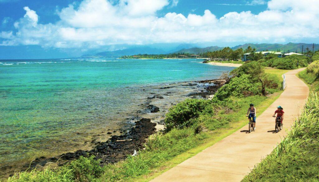 The Ke Ala Hele Makalae trail in Hawaii.
