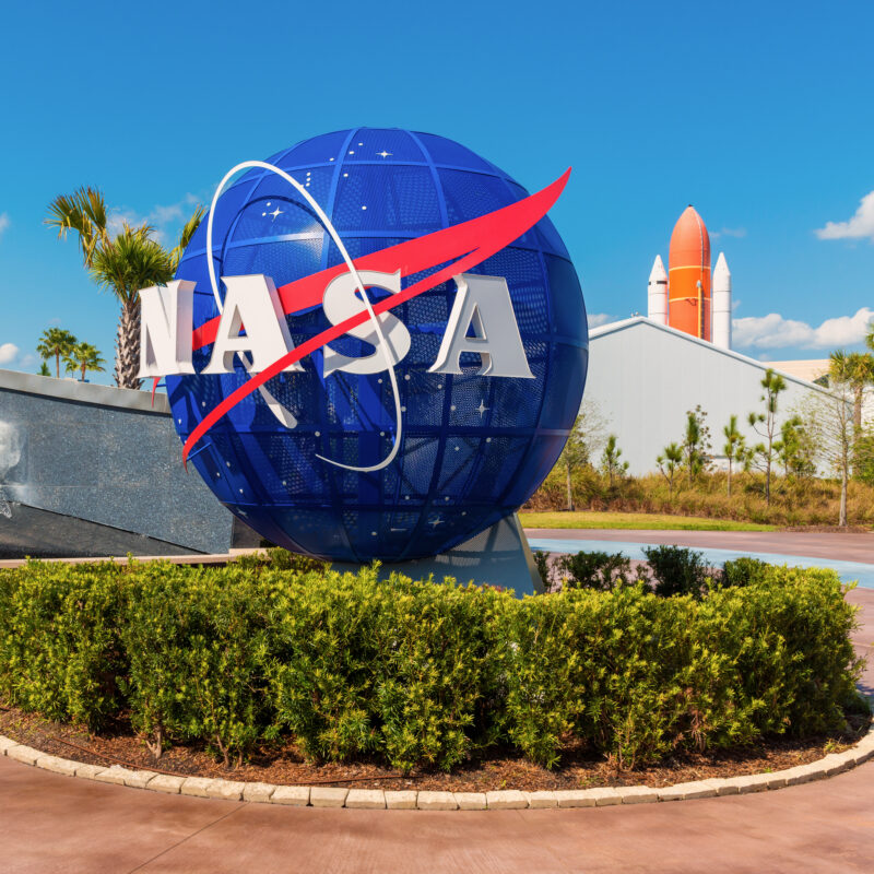 The Kennedy Space Center Visitor Complex in Florida.