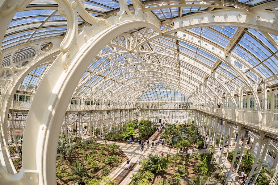 The Kew Gardens in London.