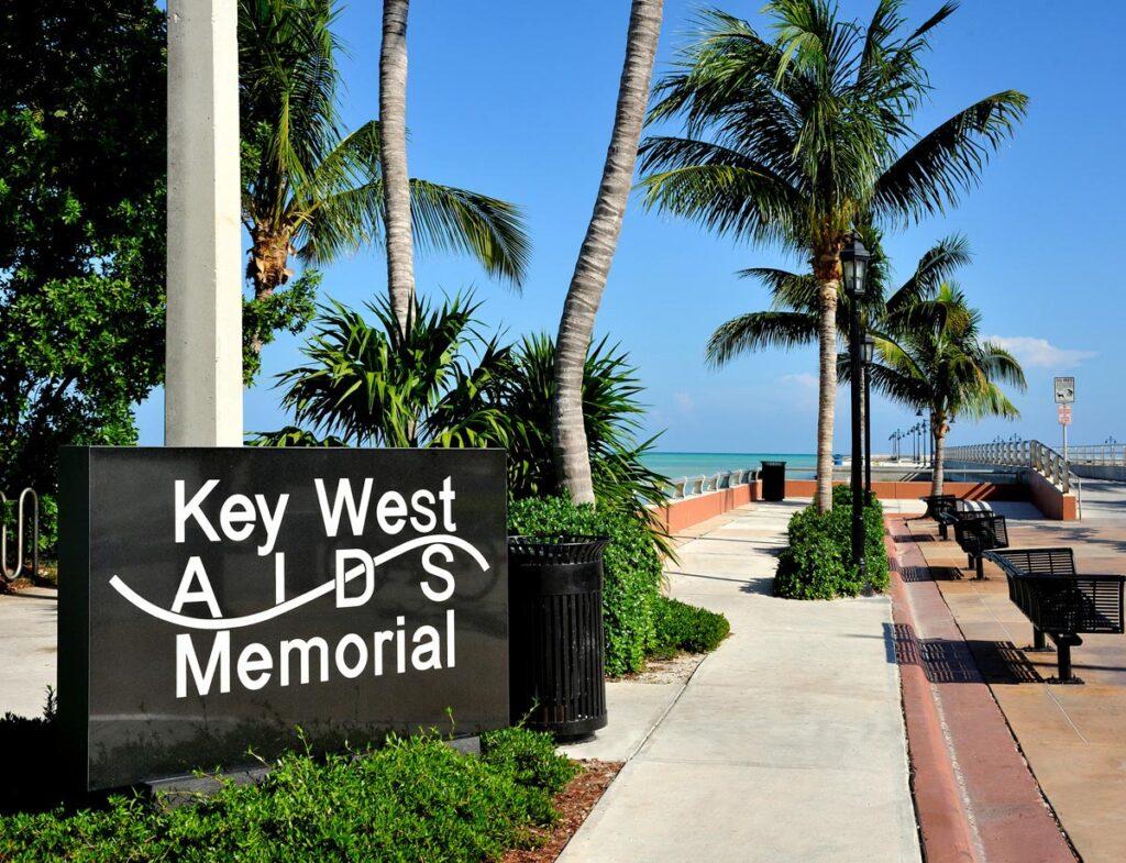 The Key West AIDS Memorial.