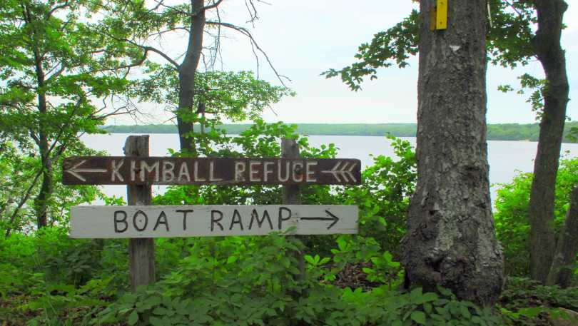 The Kimball Wildlife Refuge in Burlingame State Park.
