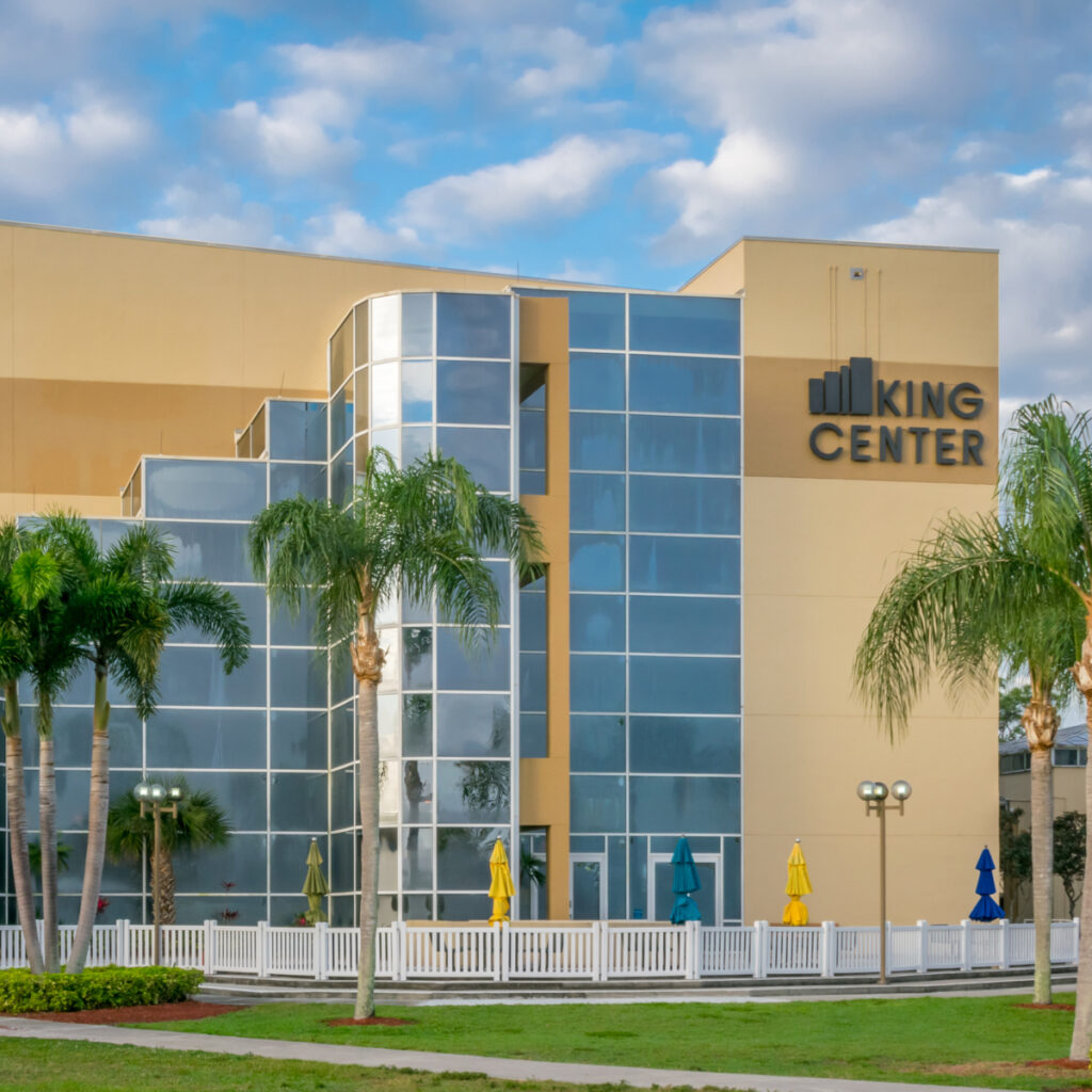 The King Center for the Performing Arts in Melbourne, Florida.