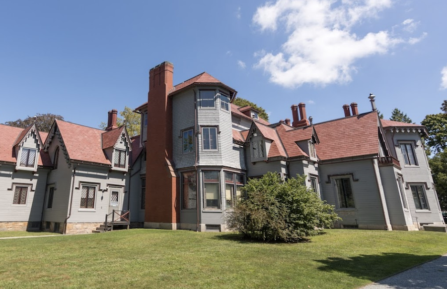 The Kingscote mansion in Newport, Rhode Island.