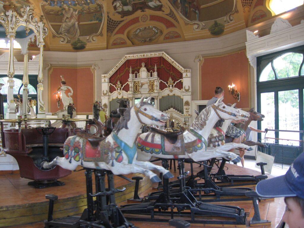 The Korhinta Carousel at the Budapest Zoo