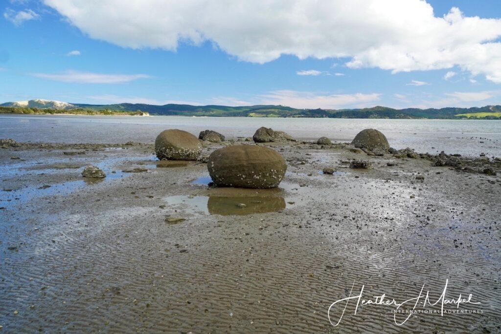 The Koutu Boulders in New Zealand's Northland.