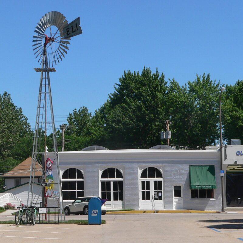 The Kregel Windmill Factory Museum in Nebraska City.