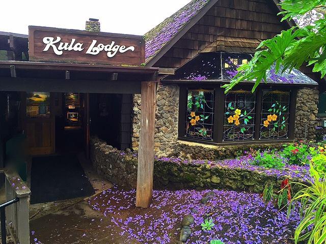 The Kula Lodge and Restaurant.