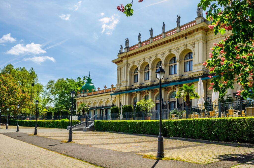 The Kursalon Vienna in City Park.