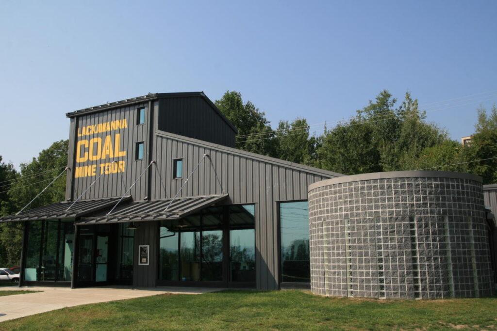 The Lackawanna Coal Mine in Scranton.