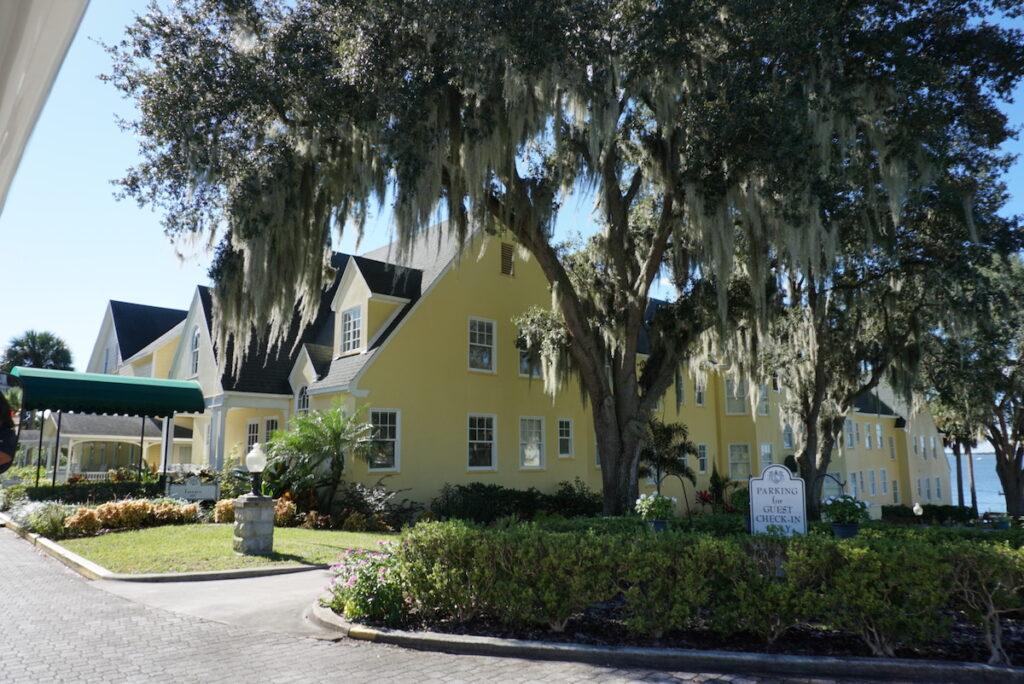 The Lakeside Inn in Mount Dora, Florida.