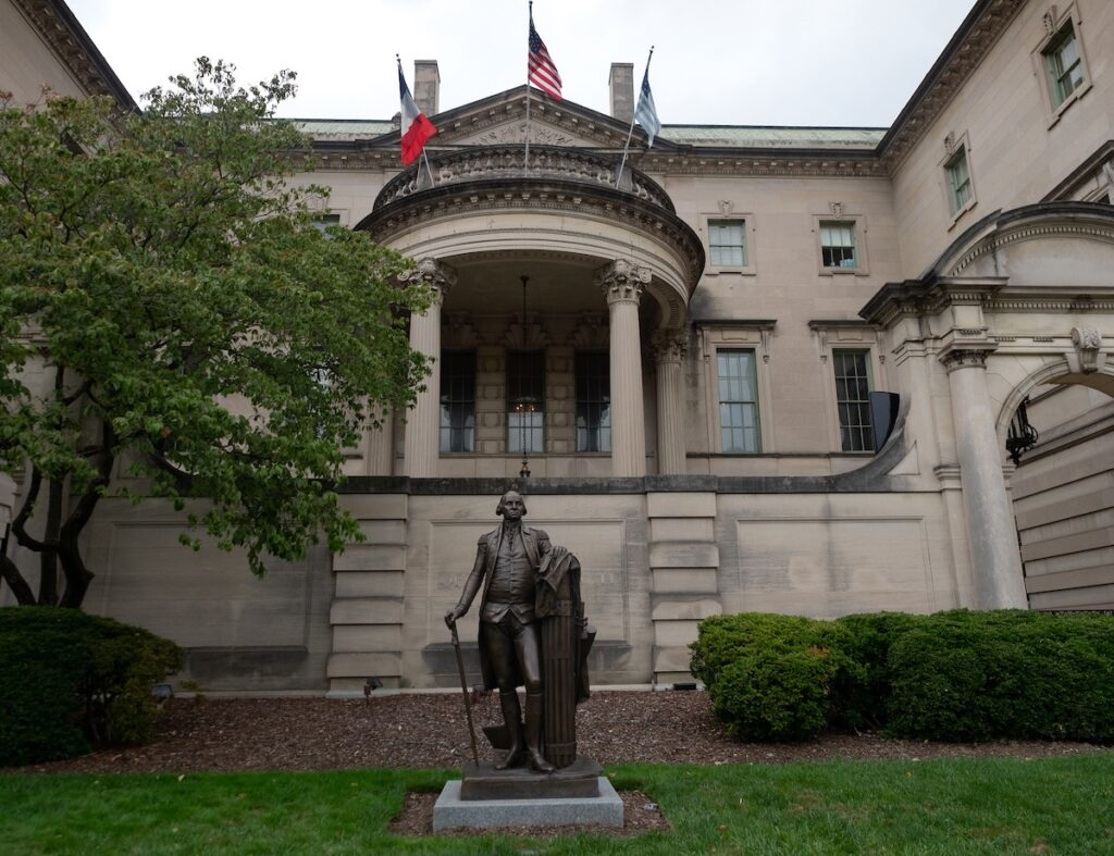 The Larz Anderson House on Embassy Row in D.C.
