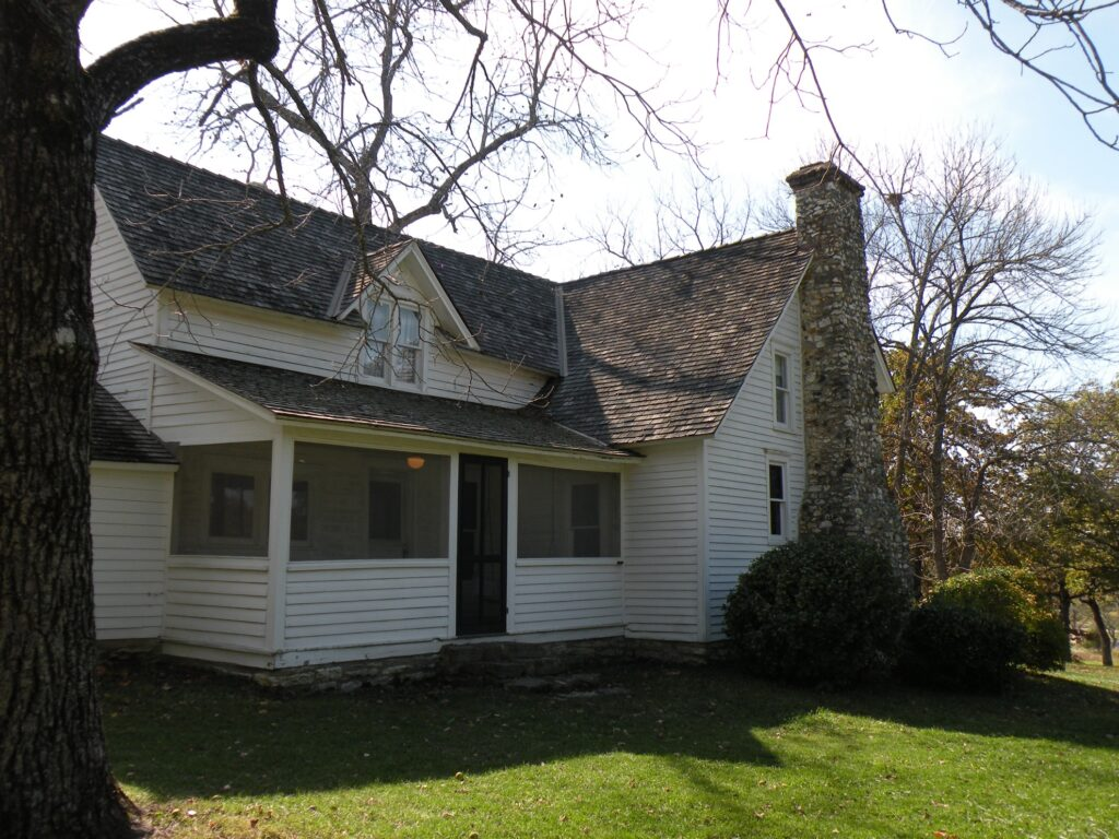 The Laura Ingalls Wilder Historic Home and Museum.